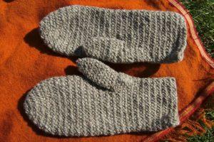 guantes de crin